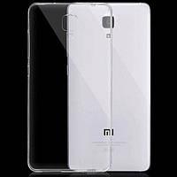 Чехол силиконовый Ультратонкий Epik для Xiaomi Mi4 Прозрачный