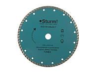 Алмазный диск Sturm Турбо d=230 мм 9020-04-230x22-T