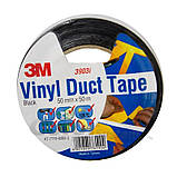 Oдносторонняя клейкая лента 3М Vinil Duct Tape 3903( 50 мм х 50 м. х 0.13 мм.).Монтажная. Серая. 3903, фото 3