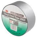 Oдносторонняя клейкая лента 3М Vinil Duct Tape 3903( 50 мм х 50 м. х 0.13 мм.).Монтажная. Серая. 3903