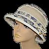 Шляпа женская Парижанка х/б пионы синие