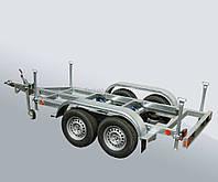 Прицеп для перевозки агрегатов До 2750 кг., Двухосный, Легковой автомобиль