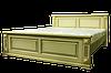 Кровать двуспальная из натурального дерева Версаль белая