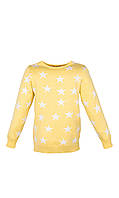 Вязаный свитер со звездами