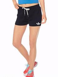 Женские спортивные шорты Adidas (Адидас) трикотаж 401-01