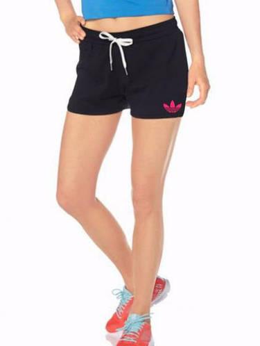 Женские спортивные шорты Adidas (Адидас) трикотаж 403-01