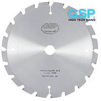 Пилы дисковые GSP TZ 500х4,0/2,5х30-80 Z=36 для резки пенобетона, газобетона, минеральной ваты