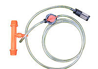 """Инжектор вентури 3/4"""" с всасывающим комплектом (всасывающая способность 9-92 л/ч)"""