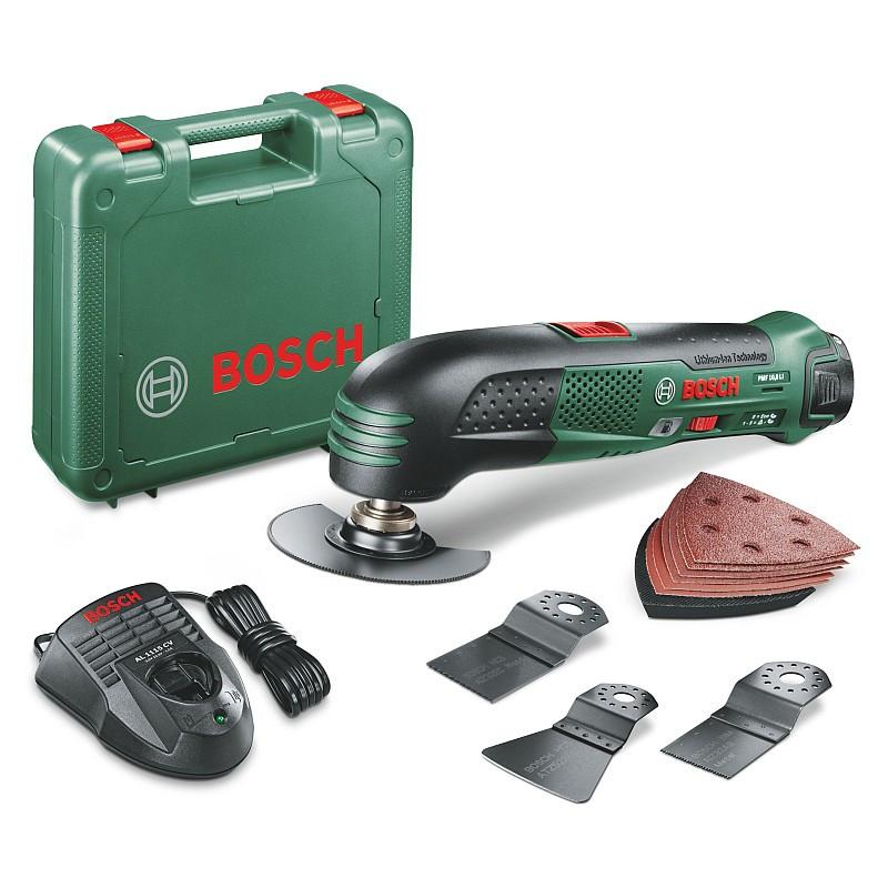 Многофункциональный резак (реноватор) аккум. Bosch PMF 10,8 LI, 0603101926