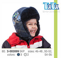 Шапка для мальчика арт. 3-002099