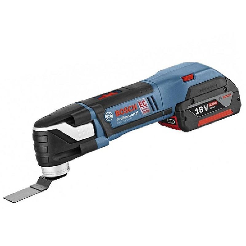 Многофункциональный резак (реноватор) аккум. Bosch GOP 18 V-EC, 06018B0000