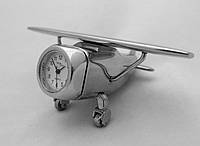 Часы NEW DAY в виде самолета - серебристые, фото 1