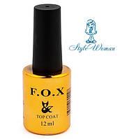 F.O.X Top Coat Фокс топ финишное покрытие 12мл