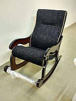 """Кресло-качалка """"Шерлок"""". Цвет каркаса и ткани можно изменять"""
