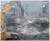 Снос зданий в Одессе