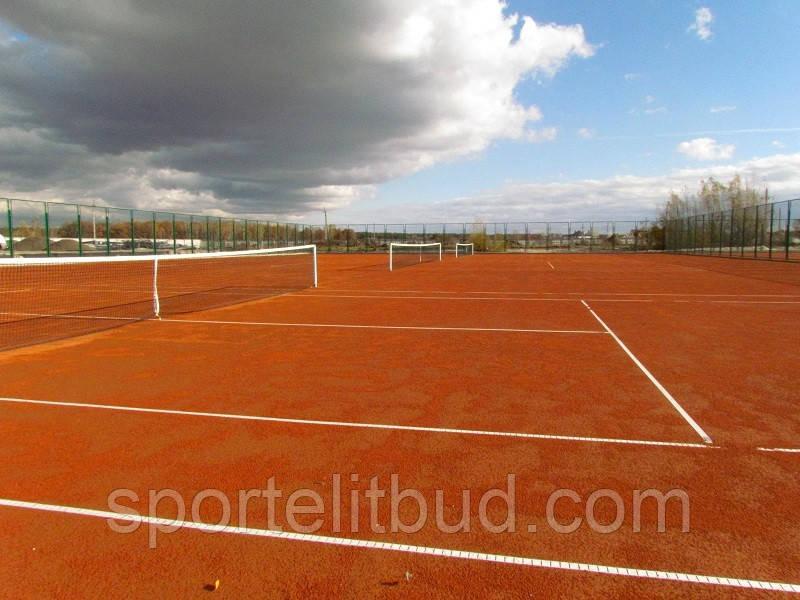 Грунтовые теннисные корты - изготовление и ремонт