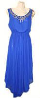 Платье нарядное женское из шифона