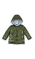 Демисезонная куртка с капюшоном 110
