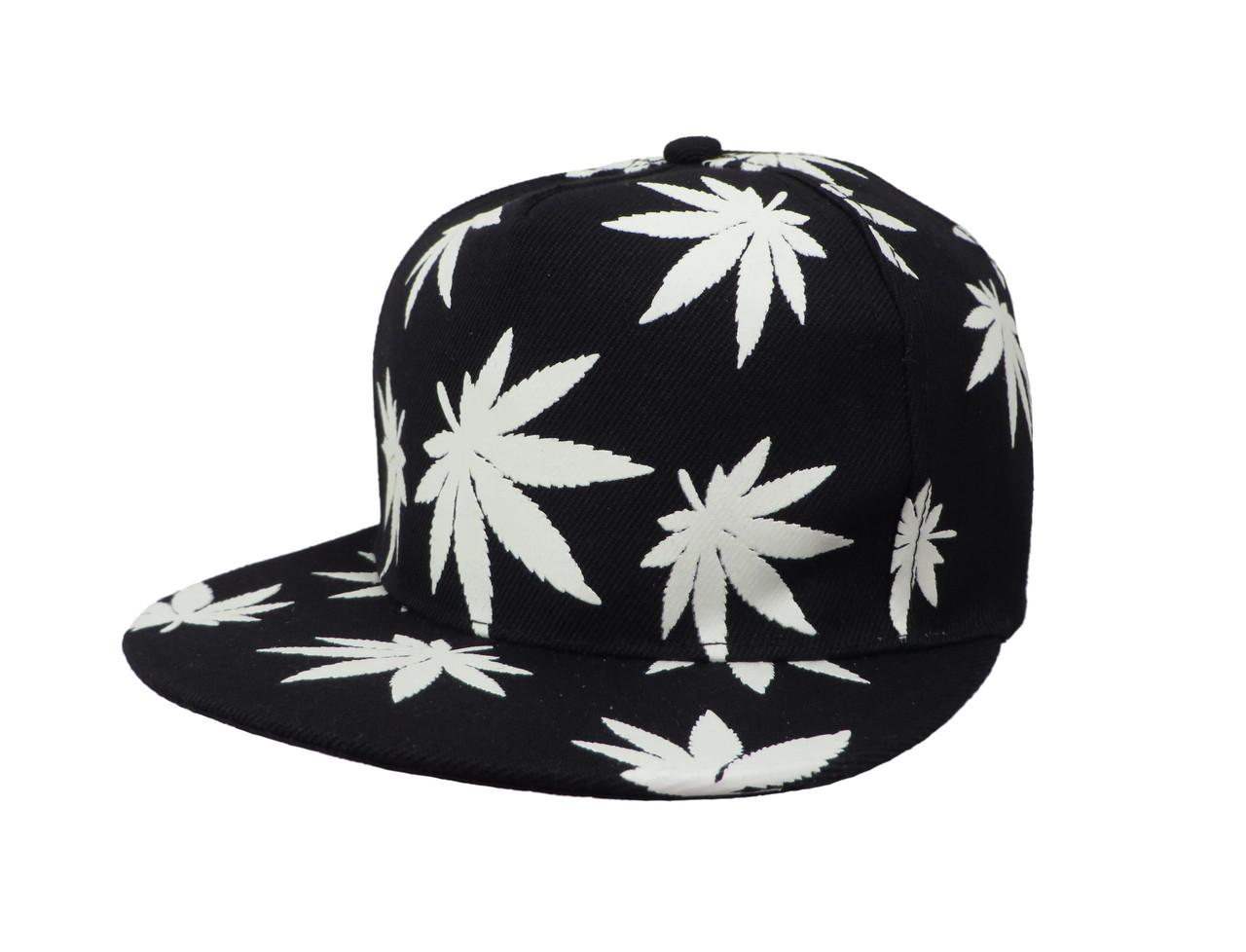 Cветящаяся черная кепка  Cayler  (реплика)