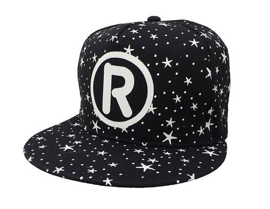 Cветящаяся черная кепка  R
