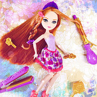 Кукла Эвер Афтер Хай Холли О'Хэйр парикмахерский набор Ever After High Hairstyling Holly Doll from Mattel