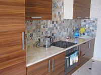 Кухня МДФ орех французский глянец, фото 1