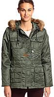 Женская куртка Abby Alpha Industries (оливковая)