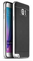 Чехол ipaky для Samsung Galaxy Note5 резиновый с серым бампером