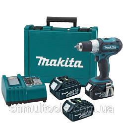 Аккумуляторный шуруповерт Makita DDF453RFE3