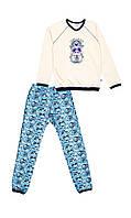 Пижама с начесом на мальчика