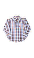 Детская клетчатая рубашка