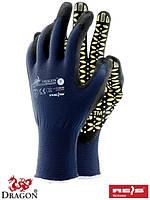 Рабочие перчатки нейлоновые с лайкрой, 7-10 размеры, Польша