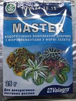 Удобрение Мастер для  декоративно-лиственных растений, 25г.