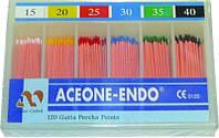 Штифты гуттаперчивые Aceone-endo 02 №15-40