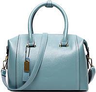Женская сумка из натуральной кожи Traum 7334-15, голубой