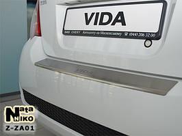 Накладки на пороги Premium Zaz Vida 2011-