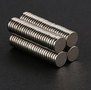 Магнит круглый неодимовый заготовка 8х1 мм Сила 0,7 кг, фото 2