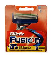 Сменные кассеты Gillette Fusion - 8 шт.