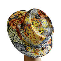Шляпа женская Блюз желтые розы