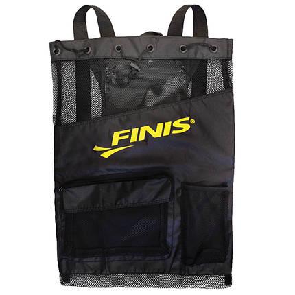 Сумка-рюкзак Finis Ultra Mesh Backpack Black/Black 1.25.022.007, фото 2