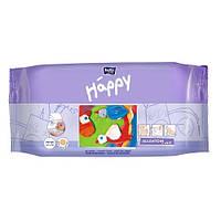 Салфетки влажные HAPPY витамином Е. (64 шт)