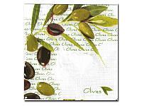 Салфетка для декупажа Katrin — Оливки и маслины,  33x33 см