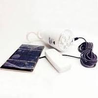 Аккумуляторная лампа GDLITE GD-5007s на солнечной батарее с пультом