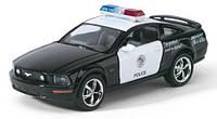 Металлическая инерционная машинка Kinsmart KT5091W Ford Mustang полиция