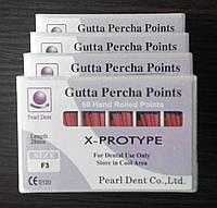 Штифты гуттаперчивые PEARL DENT F3 X-PROTYPE