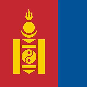 Флаг Монголии (Аппликация) - (1м*1.5м), фото 2