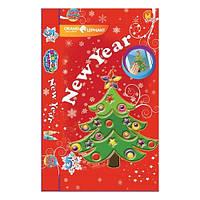 """12215   Набор витражных красок """"Новогодняя елка"""""""