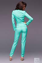 Костюм с брюками 4 пуговицы 02/1244, фото 2