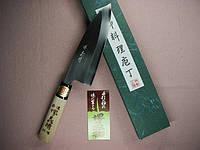 Купить нож кухонный японский Sakai Yoshiharu Deba Shirogami 165мм