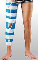 Жесткая шина для ноги с 4-мя металлическими ребрами жесткости Реабилитимед Тутор-Н